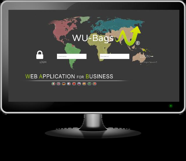 multilingua multivaluta software ERP wu-bags